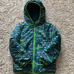 Columbia Boys Reversible Winter Coat